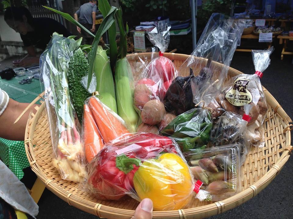 8月野菜ボックス